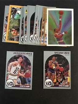 1990/91 NBA Hoops Utah Jazz Team Set 16 Cards