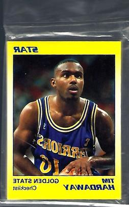 1990 91 star co tim hardaway golden