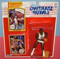 1990 KARL MALONE Utah Jazz NM #32 *FREE s/h* Starting Lineup