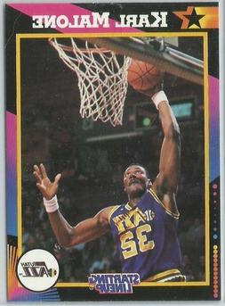 1992 Karl Malone Utah Jazz Card Starting Lineup SLU NBA Bask
