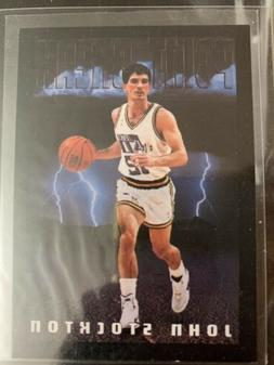 1993-1994 Skybox Premium John Stockton Jazz Like Mint In Sle