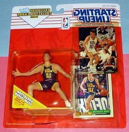 1993 JOHN STOCKTON Utah Jazz #12 NM- Starting Lineup + Stadi