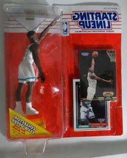 1993 Starting Lineup Larry Johnson Charlotte Hornets Kenner