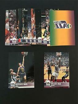 1994/95 NBA Hoops Utah Jazz Team Set 15 Cards