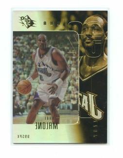 1999-00 SPX Sample Promo #32 KArl Malone Utah Jazz Card
