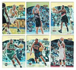 2000-01 Bowman's Best BASKETBALL PROMO SET  Stockton, Pippen