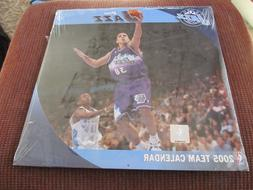 2005 Utah Jazz WALL CALENDAR - COLOR ACTION PHOTOS New Seale