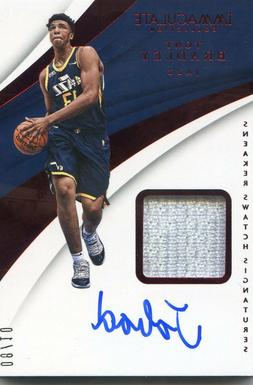 2017-18 PANINI IMMACULATE SNEAKER SWATCH PATCH AUTO RC TONY