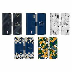 NBA 2018/19 UTAH JAZZ LEATHER BOOK WALLET CASE COVER FOR APP