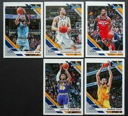 2019-20 Panini Donruss Utah Jazz Base Team Set of 5 Basketba