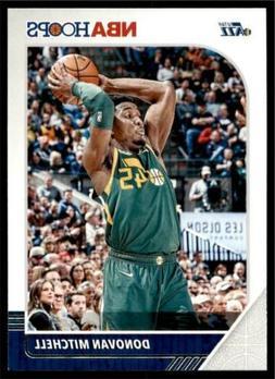 2019-20 Panini NBA Hoops Base #185 Donovan Mitchell - Utah J