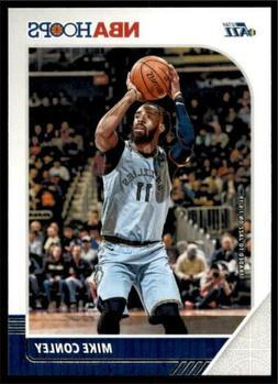 2019-20 Panini NBA Hoops Base #186 Mike Conley - Utah Jazz