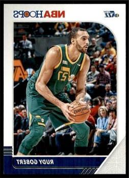 2019-20 Panini NBA Hoops Base #187 Rudy Gobert - Utah Jazz
