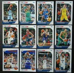 2019-20 Panini NBA Hoops Utah Jazz Base Team Set of 12 Baske