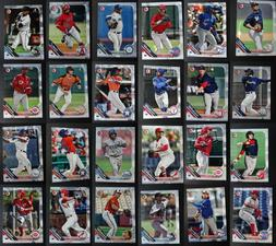 2019 bowman prospects paper base baseball cards