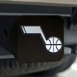 FANMATS 21020 NBA - Utah Jazz Black Hitch Cover, Team Color,