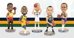 5 Utah Jazz Bobbleheads - Donovan Mitchell - Rudy Gobert