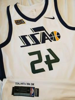 Donovan Mitchell 2017-18 Utah Jazz Authentic Pro Cut NBA Roo