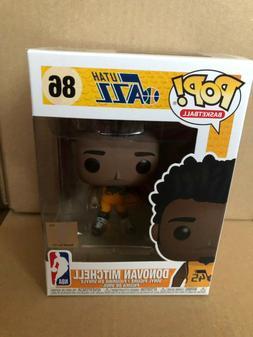 Donovan Mitchell Utah Jazz  FUNKO NBA POP Vinyl NIB IN STOCK