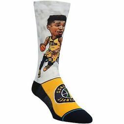 Donovan Mitchell Utah Jazz Stance Big Head Player Crew Socks