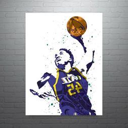 Donovan Mitchell Utah Jazz Poster FREE US SHIPPING
