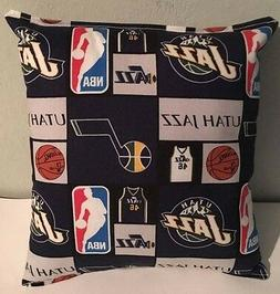 Jazz, Pillow Utah, Jazz, Pillow NBA Handmade in USA Pillow,