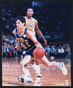 John Stockton Utah Jazz Basketball NBA Unsigned 8x10 Color P