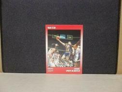 John Stockton Utah Jazz Gonzaga 1990 Star Promo RED Border B