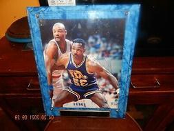 Karl Malone HOF Utah Jazz Signed/Autographed 8x10 Photo & 20