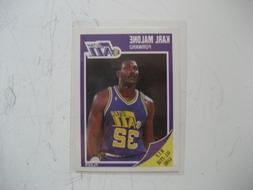 Karl Malone Jazz Fleer card #155 1989 in plastic sleeve mint