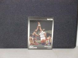Karl Malone Utah Jazz 1990 Star Platinum Promo Glossy