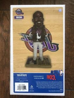Karl Malone Utah Jazz 2X MVP Trophy NBA Legends Bobble Head