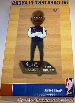 Karl Malone Utah Jazz 50 Greatest Players Legends Bobblehead