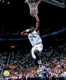 "Karl Malone ""Utah Jazz"" NBA Baskettball Licensed Unsigned 8x"