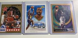 Karl Malone's Card Lot + Card Sleeves