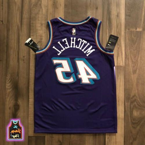 2019-20 Donovan Mitchell Utah Jazz Jersey