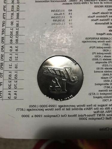 Jeff Jazz LEGEND Retirement Coin