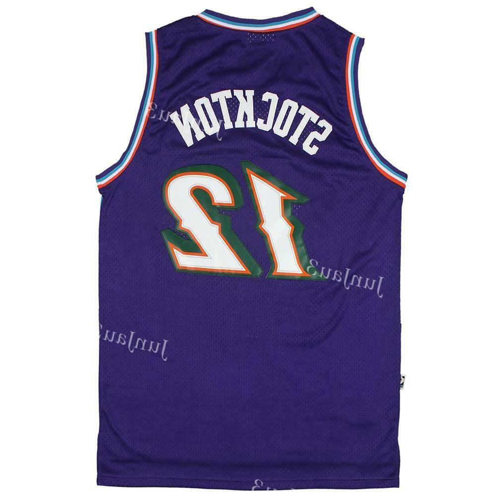 john stockton 12 utah jazz throwback classic