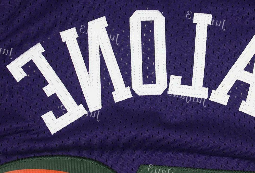 Karl Malone #32 Jazz Throwback Jersey Purple