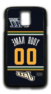 NBA Utah Jazz Personalized Name/Number Samsung Phone Case 14