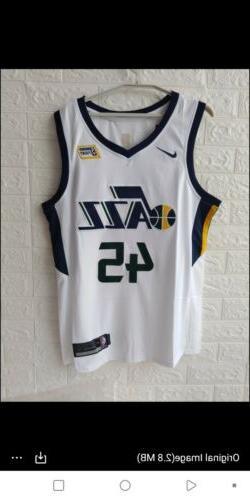 NWT Nike Utah Jazz Donovan Mitchell #45 Swingman Edition Jer