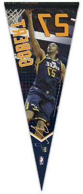 RUDY GOBERT Utah Jazz NBA Signature Series Premium Felt Coll