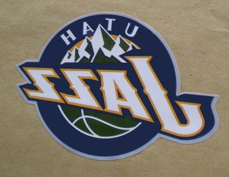 utah jazz nba basketball decal stickers team