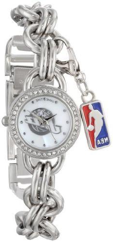 Utah Jazz NBA Women's Charm Series Watch