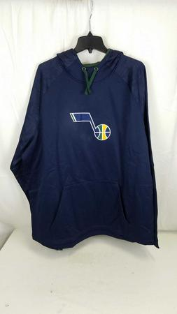 Fanatics Men NBA Utah Jazz Hoodie Sweater Navy Size 3XL