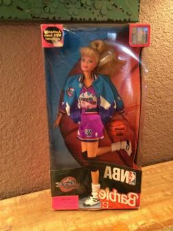 MATTEL NBA 1998 NBA TEAM UNIFORM UTAH JAZZ BARBIE DOLL NEW I
