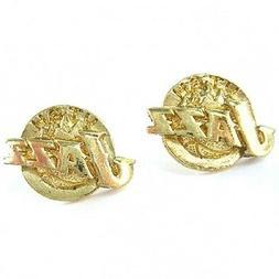 NBA Earrings Utah Jazz Gold Jewelry NEW