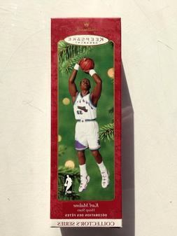 NBA Karl Malone Utah Jazz Hallmark Keepsake 2000 Christmas O