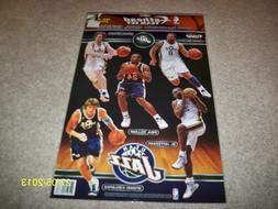 BRAND NEW! NBA NEW YORK KNICKS, 5 PLAYER FATHEAD TEAMMATES W