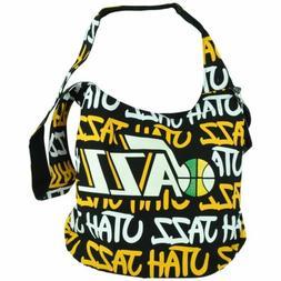 NBA Robin Ruth Utah Jazz Round Shoulder Hand Bag Cross Body